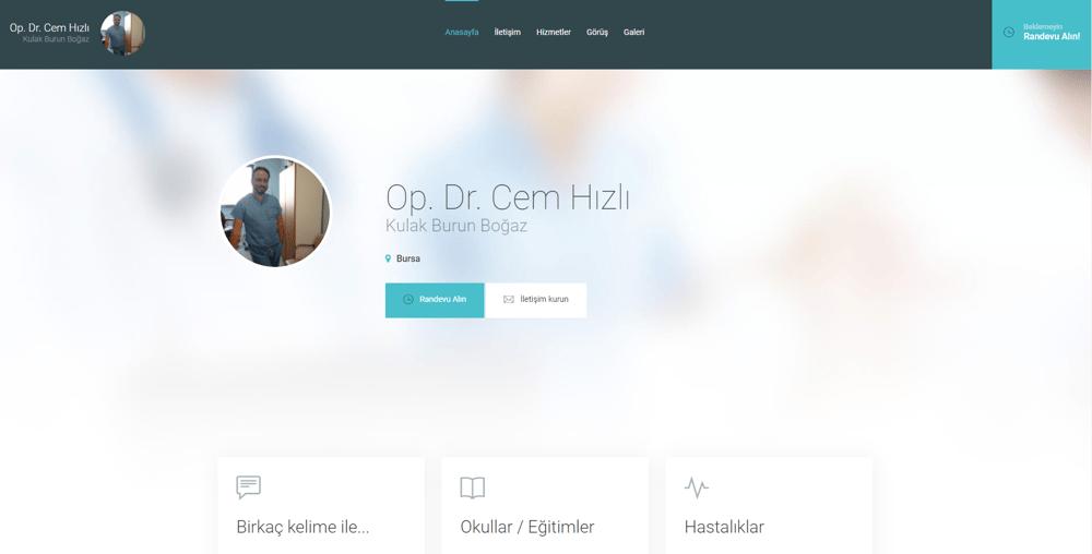 Op. Dr. Cem Hızlı - Kulak burun boğaz, Bursa - Goo