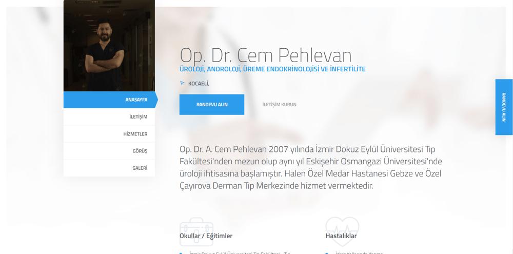 Op. Dr. Cem Pehlevan - Üroloji, Kocaeli - Google C-1